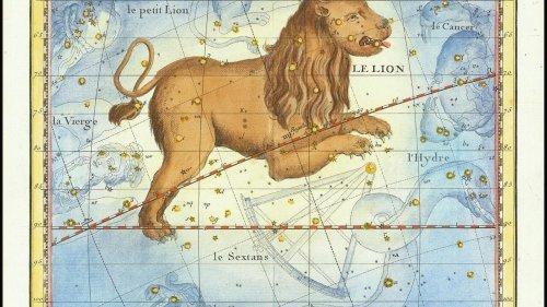Ciel d'Afrique - Constellation du Lion, étoiles filantes et planètes visibles à l'oeil nu