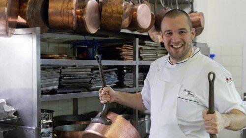 Le chef Guillaume Gomez quitte les fourneaux de l'Élysée pour défendre la gastronomie française
