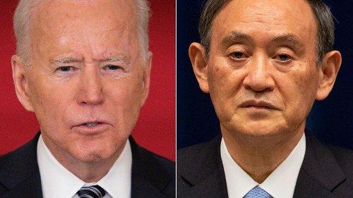 Etats-Unis-Japon: Biden et Suga prêts à présenter un front uni sur Taïwan