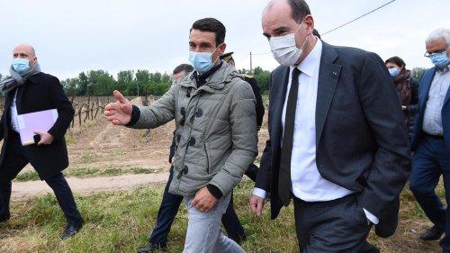 Gel en France: Jean Castex annonce un milliard d'euros pour les agriculteurs
