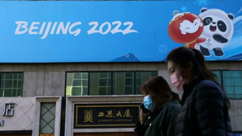 Chine: à 100 jours des JO, Pékin bien dans sa bulle sanitaire
