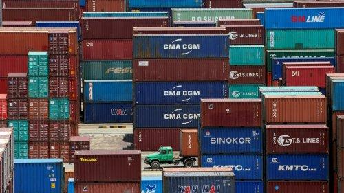 中國北非之間 呈現嚴重傾斜的單向貿易路線
