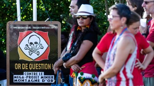 C'est pas du vent - À contre-courant: le projet Montagne d'Or relancé en Guyane