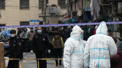 Covid-19 en Chine: la colère des confinés de Tonghua