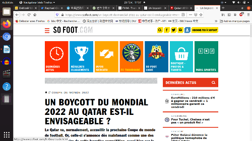法媒呼籲法國足球明星杯葛卡塔爾世界盃