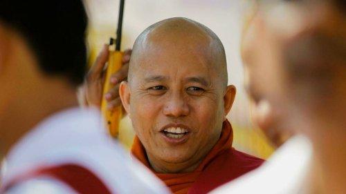 Birmanie: la junte libère le moine bouddhiste ultranationaliste Wirathu