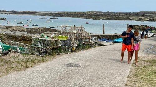 Les empreintes européennes en France - L'île de Chausey, petite île française dans les eaux anglo-normandes
