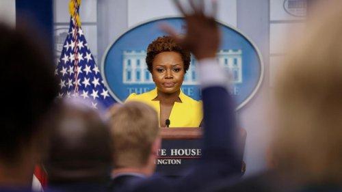 Karine Jean-Pierre s'installe au prestigieux pupitre de la Maison Blanche