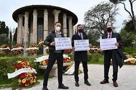 Protest inedit al firmelor de pompe funebre din Roma