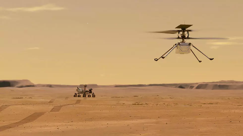 NASA: Primul zbor pe Marte al mini-elicopterului Ingenuity ar putea avea loc luni