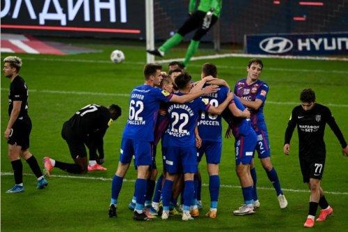 """ЦСКА обыграл """"Ротор"""" в матче 25-го тура РПЛ"""