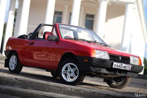 Редкий экспортный кабриолет Lada из Канады выставили на продажу