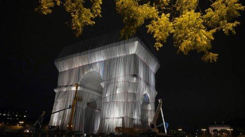 Verhüllter Triumphbogen: Christos und Jeanne-Claudes letztes Geschenk an Paris