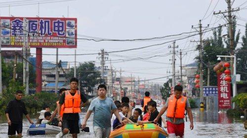 63 Tote durch Unwetter in China: Taifun trifft auf Küste