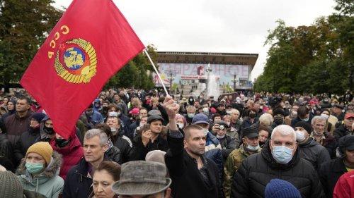 Russland: Proteste gegen Wahlergebnisse - Mehrere Festnahmen