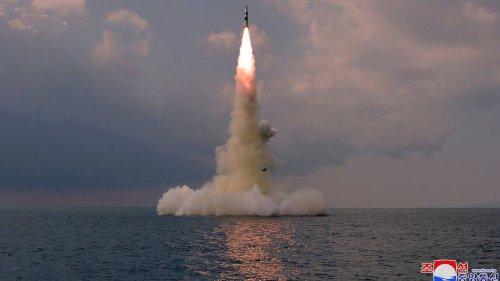 Aus U-Boot abgefeuert: Nordkorea bestätigt Test von neuartiger Rakete