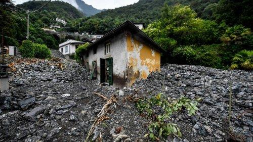 Erdrutsche und Überschwemmungen in Norditalien – Notstand in Teilen derLombardei