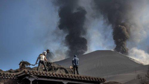 Vulkanwolke aus La Palma erreicht Deutschland: hohe Schadstoffwerte nur in Atmosphäre