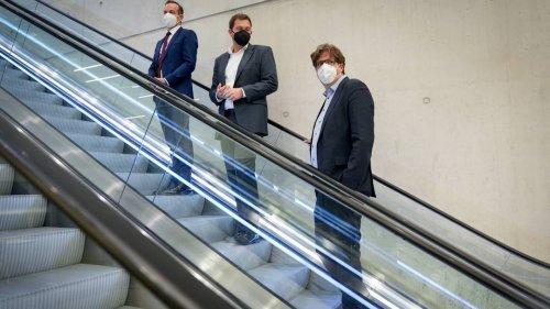 Livestream: SPD, Grüne und FDP nach Gesprächen über Vorentscheidung zur Ampel-Koalition