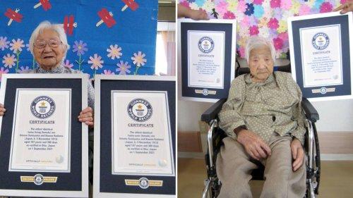 107 Jahre alte Japanerinnen sind die ältesten eineiigen Zwillinge der Welt