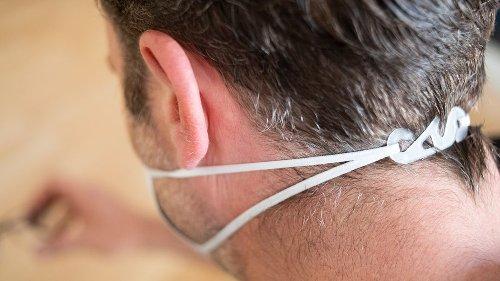 Hinterkopfhalterung statt Ohrschlaufen: So sitzt die FFP2-Maske richtig