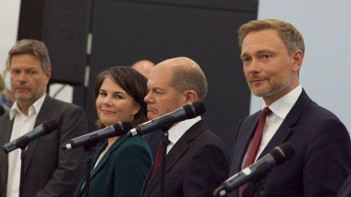 Wie das Ausland auf die Ampel-Gespräche in Deutschland schaut