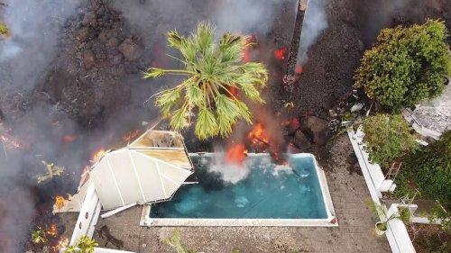 Blick aufs Schauspiel: die bedrückende Faszination des Vulkanausbruchs