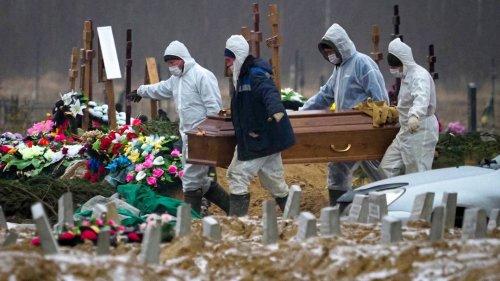 Immer mehr Pandemietote: Russland steht ein harter Corona-Winter bevor