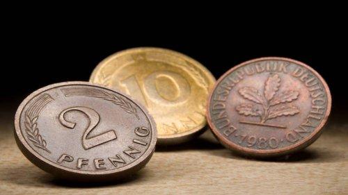 Deutsche horten D-Mark im Milliardenwert