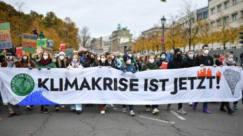 Druck auf Ampelkoalitionäre: Fridays for Future protestiert erneut in Berlin