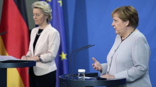 Merkel stärkt von der Leyen den Rücken - die ist wegen ihrer Untätigkeit gegenüber Polen und Ungarn unter Druck
