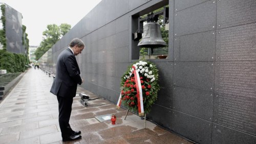 Unionskanzlerkandidat: Laschet wirbt in Polen für gute Beziehungen