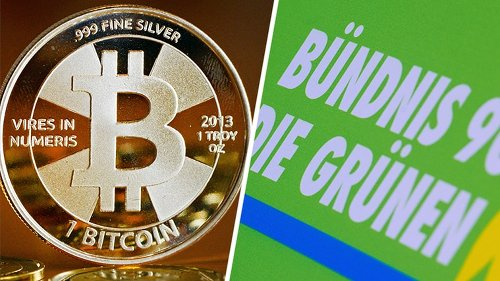 Reich geworden mit Bitcoins: Der Mann, der eine Million Euro an die Grünen spendete