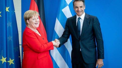 """Merkels Abschiedsbesuch in Griechenland: DIW-Vorstand hält """"schwierige Jahre"""" für beendet"""