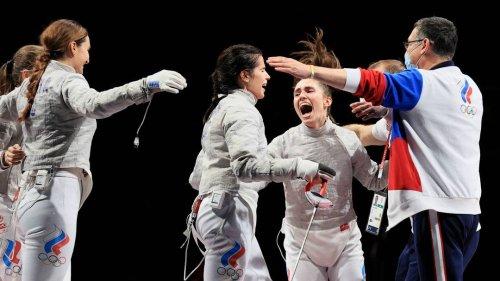 """Russische Athletinnen und Athleten bei Olympia: Die Geächteten """"rocken"""" die Welt"""