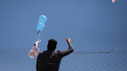 Israel greift Ziele im Gazastreifen an - Reaktion auf Abschuss von Brandballons