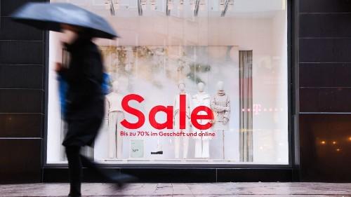 Bis zu 90 Prozent: Lockdown zwingt Modehandel zu hohen Rabatten