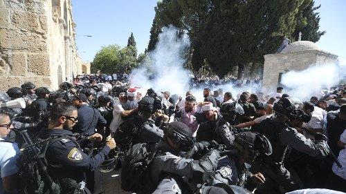 Erneut schwere Zusammenstöße am Tempelberg - Erdogan attackiert Israel