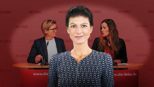 Wegen ihres neuen Buches: Parteispitze der Linken distanziert sich von Wagenknecht