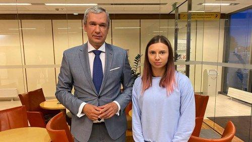 Belarussische Läuferin Timanowskaja in Polen angekommen
