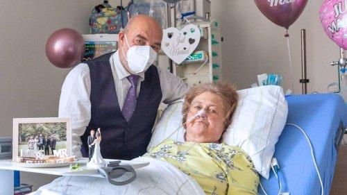 Schwerkranke Patientin heiratet auf der Intensivstation in Minden