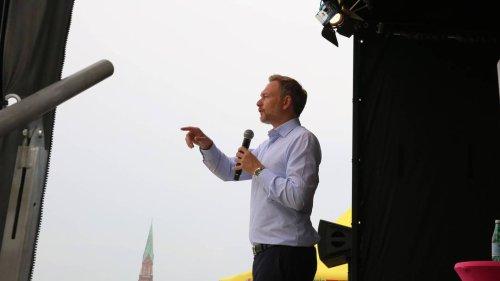 FDP-Chef Christian Lindner: auferstanden aus Ruinen