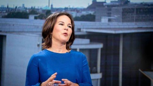 "Baerbock in RTL-Talk: Kanzlerkandidatin droht China mit ""Klimazoll"""