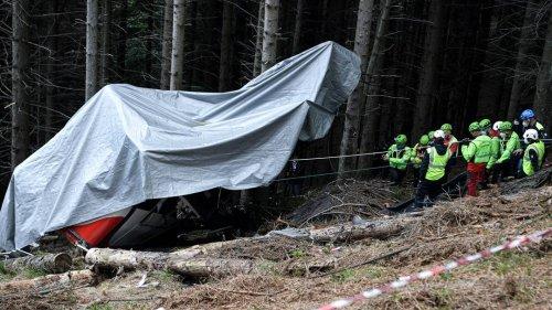 Seilbahnunglück in Italien: abgestürzte Gondel soll entfernt werden