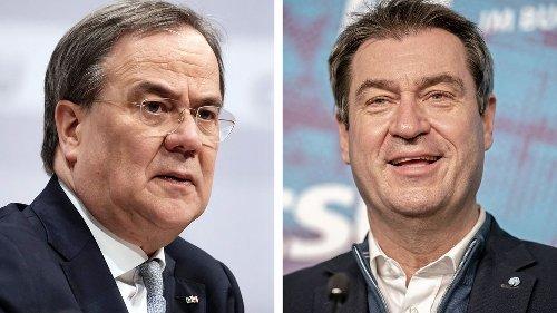 Kanzlerkandidatur: CDU-Bundestagsabgeordnete sammeln Unterschriften für Söder