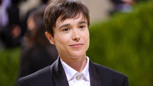 Zweifaches Debüt: Elliot Pages erster Auftritt als Transgender bei Met-Gala in New York