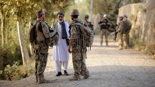 Mehr als 1300 afghanische Helfer von Bundeswehr und Polizei in Deutschland eingereist