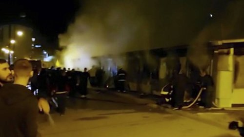Covid-Krankenhaus in Nordmazedonien brennt: 14 Tote und Verletzte