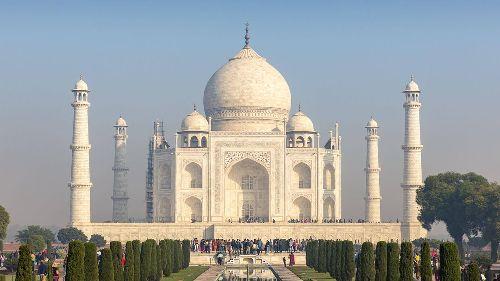 Indien:Bombendrohung auf Taj Mahal – Gebäude zeitweise geräumt