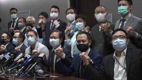 Hongkonger Parlamentspräsident: Gesetzverfahren ohne Opposition leichter